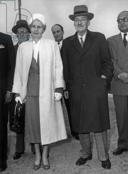 Clement Attlee and his wife