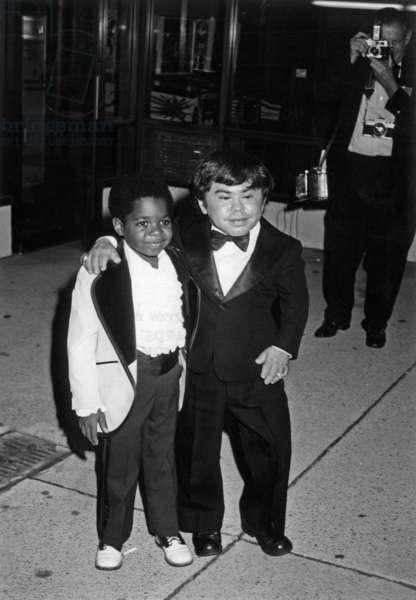 Herve Villechaize et Gary Coleman
