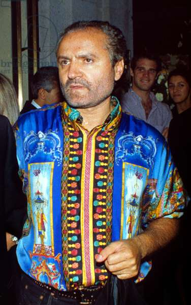 Gianni Versace, London, 1992 (photo)