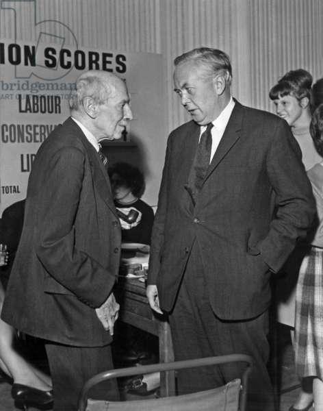 Clement Attlee et Harold Wilson