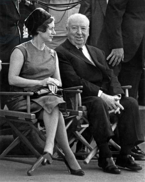 Princess Margaret of England and Alfred Hitchcocks