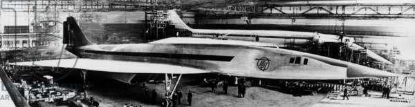 Supersonic aircraft TU 144