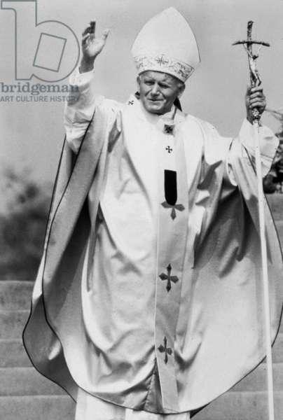 John Paul II in Wales