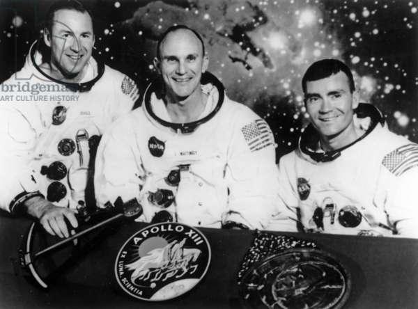 Apollo 13: astronauts
