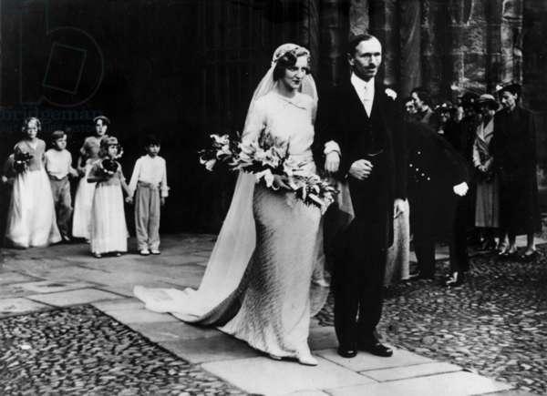 Lord Home et Elisabeth Alington