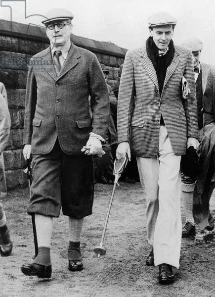 Harold Mac Millan and the Duke of Devonshire