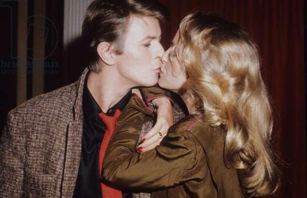 David Bowie and Sydne Rome