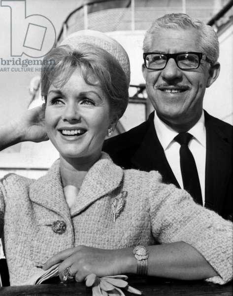 Debbie Reynolds and her husband Harry Karl