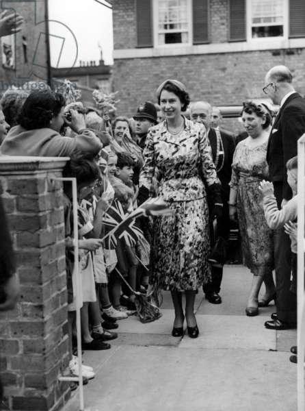 Queen Elizabeth II, 1955