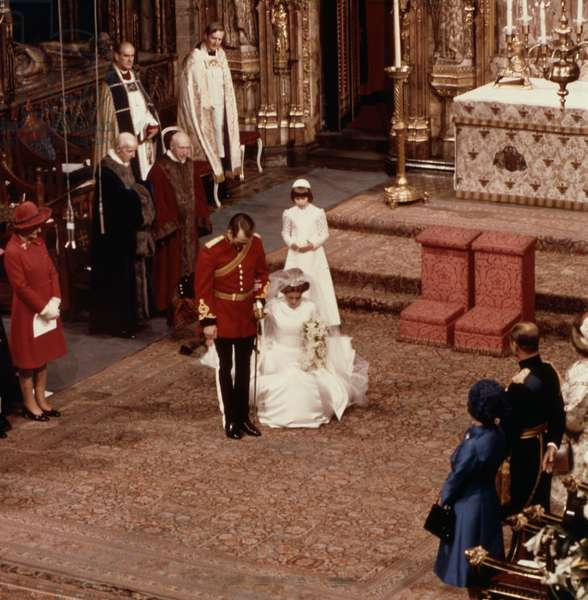 Marriage of Princess Anne of England and Captain Mark