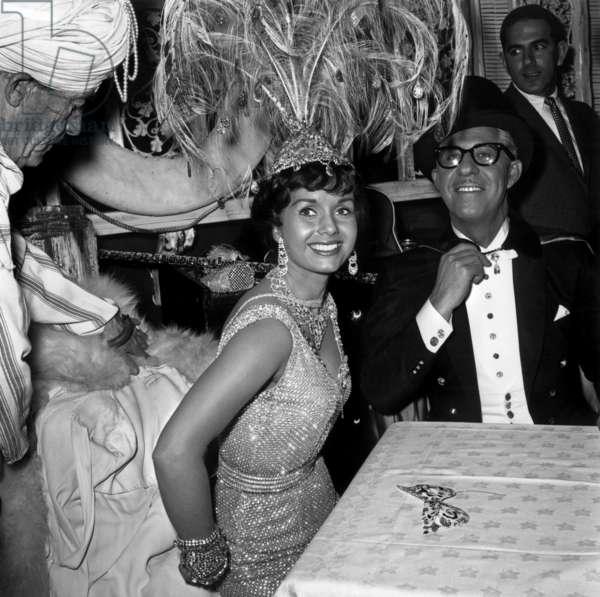 Debbie Reynolds et Harry Karl