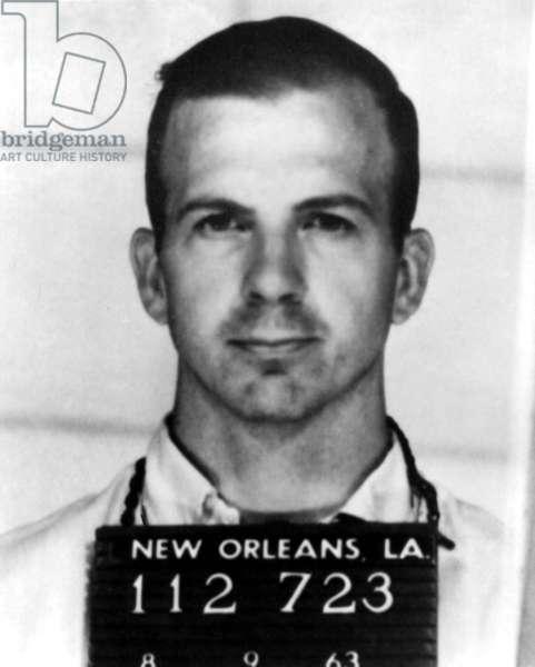 Lee Harvey Oswald, 1962 (b/w photo)