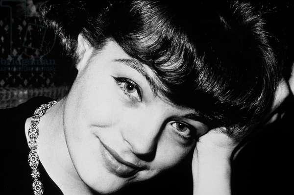 Actress Romy Schneider C. 1959 (b/w photo)