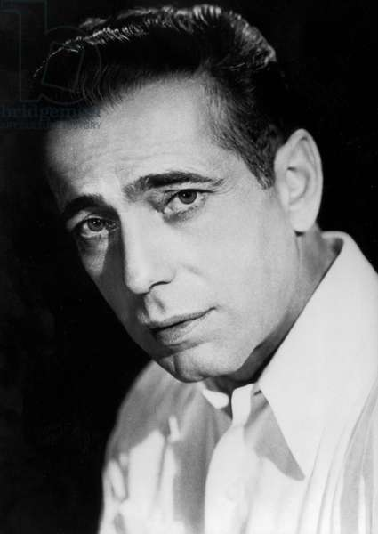 American Actor Humphrey Bogart (1899-1957) C. 1941 (b/w photo)