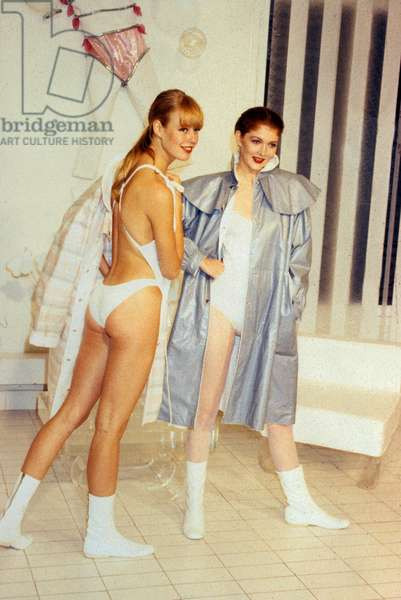 Courreges Fashion Summer 1983 (photo)