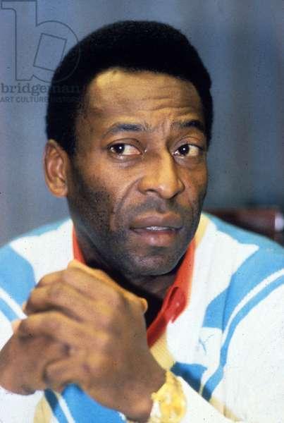 Edson Arantes Do Nascimento Aka Pele, Brazilian Footballer, here in September 1986 (photo)