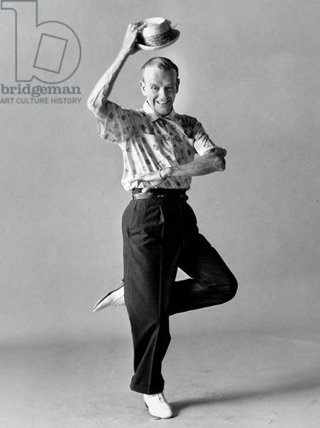 Fred Astaire (1899-1987) C. 1970 (b/w photo)