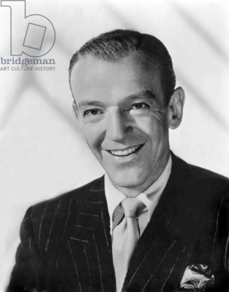American Actor Fred Astaire (1899-1987) (b/w photo)