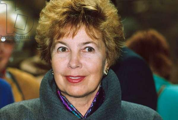 Raissa Gorbatchev, Wife of Soviet President, in 1989 (photo)