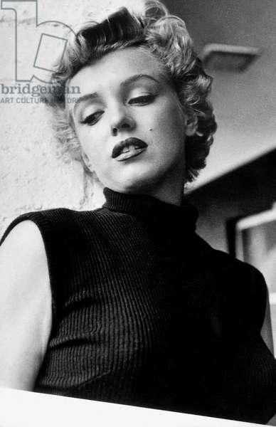 Marilyn Monroe (1926-1962) C. 1953 (b/w photo)