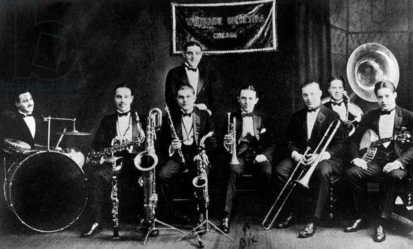 Wolverine Orchestra Orchestre De Jazz Band, Chicago (b/w photo)