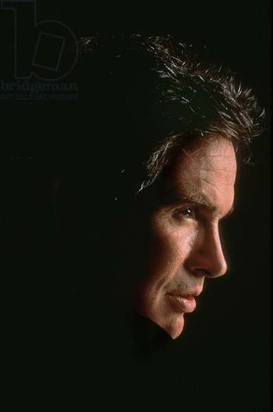 Actor and Director Warren Beatty at The Time of Film Dick Tracy in 1990 (photo)