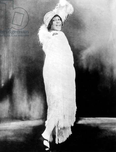 Bessie Smith, American Blues Singer, 1920s (b/w photo)