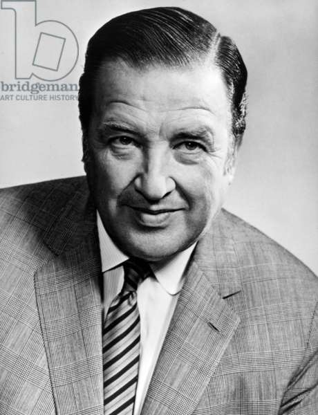 Henry Ford Ii (1917 - 1987), American Businessman and Director of The Ford Motor Company From 1945 To 1960, Son of Edsel Ford and Grandson of Henry Ford. (b/w photo)