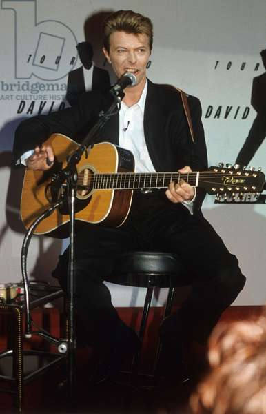 David Bowie En 1990 (photo)