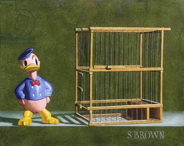Bird Cage, 2004 (oil on canvas)