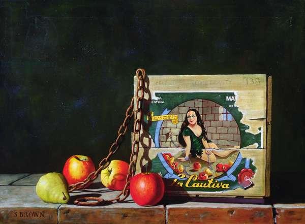 La Cautiva, 2004 (oil on canvas)