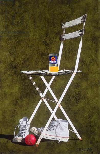 Chair, 2003 (oil on canvas)