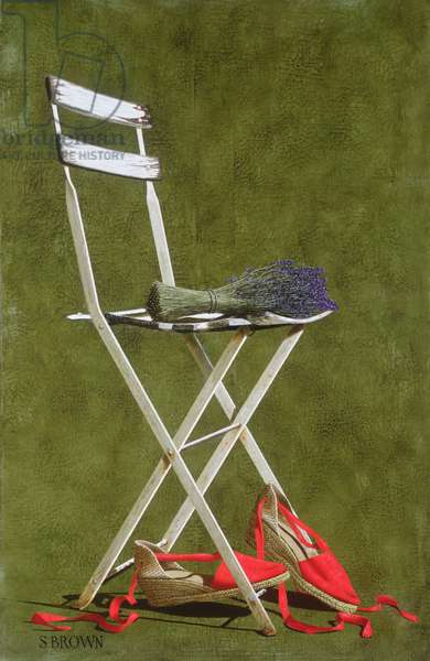 Chair, 2003 (oil on canvas)