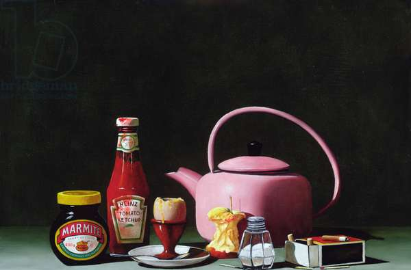 Breakfast, 2003 (oil on canvas)