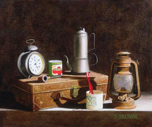 5 O'Clock, 2004 (oil on canvas)