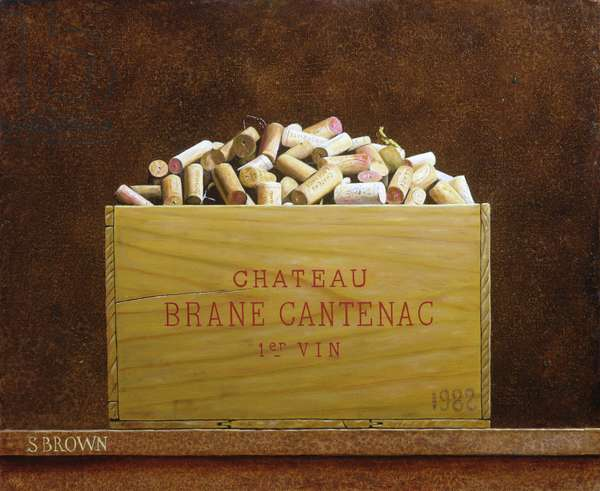 Box of Corks, 2004 (oil on canvas)