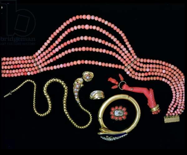 Victorian snake jewellery