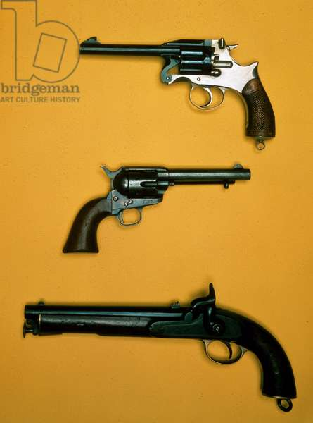 English and American Revolvers