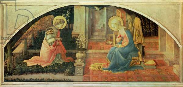 The Annunciation, c.1450-3 (egg tempera on panel)