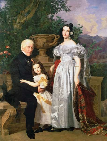 The Kerzman Family, c.1840