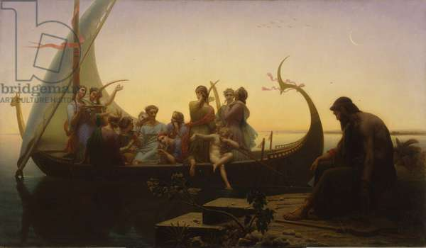 Lost Illusions, 1865-67 (oil on canvas)