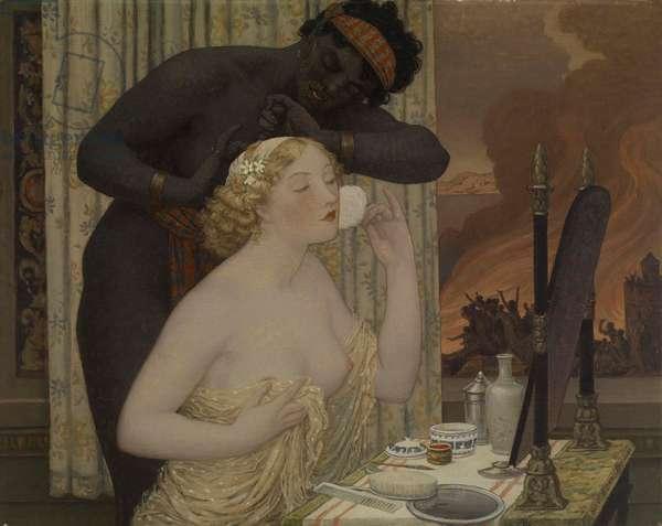 Toilet of Helen, 1914 (oil on canvas)