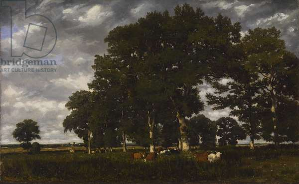 A Bright Day, c.1835-40 (oil on canvas)