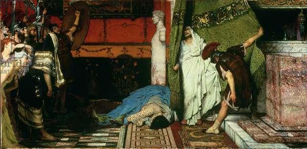 A Roman Emperor, AD 41 - Claudius, 1881 (oil on canvas)