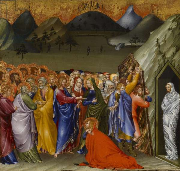 The Raising of Lazarus, 1426 (tempera and gold leaf on panel)