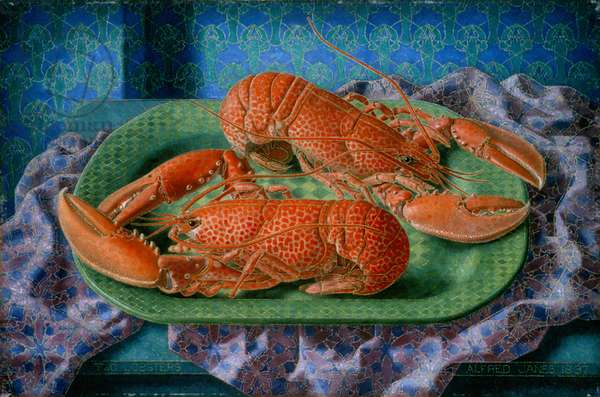 Two Lobsters, 1937