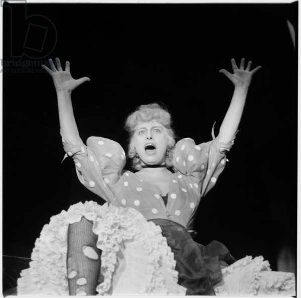 Anna Magnani, c.1952 (b/w photo)