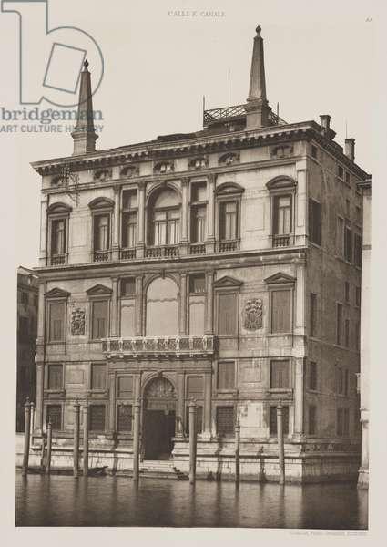 Concina Palace, 1891 (photogravure)
