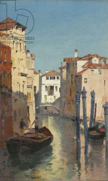 From Ponte del Cristo, Venezia, 1888 (oil on canvas)