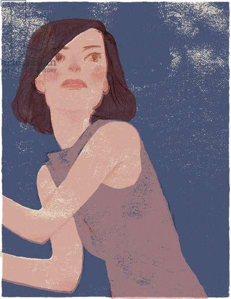 A woman, 2000, (digital)